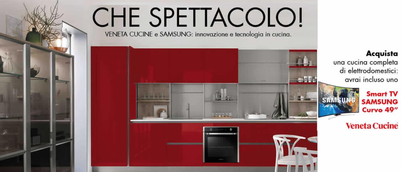 Veneta Cucine e Samsung | Mobil Arte